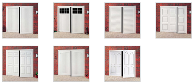 Side hinged ABS garage doors from Best Garage Doors Barnsley, South Yorkshire